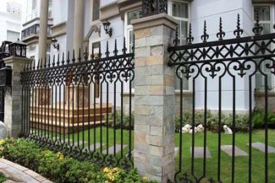 Hàng rào sắt đẹp 3