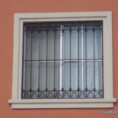 Khung sắt cửa sổ đẹp đơn giản
